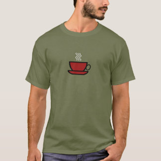 Camiseta T-shirt do copo de café