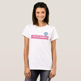 Camiseta T-shirt do coração de Outlandia