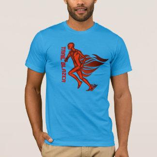 Camiseta T-shirt do corredor de distância do blazer de fuga