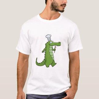 Camiseta T-shirt do cozinheiro chefe de Cajun