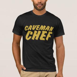 Camiseta T-shirt do cozinheiro chefe do homem das cavernas