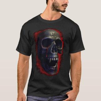 Camiseta T-shirt do crânio 1 do demónio