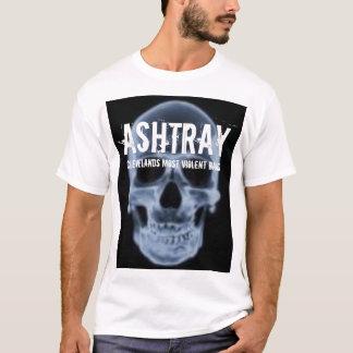 """Camiseta """"T-shirt do crânio azul"""" do CINZEIRO"""