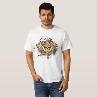 Camiseta T-shirt do crânio do Swashbuckler