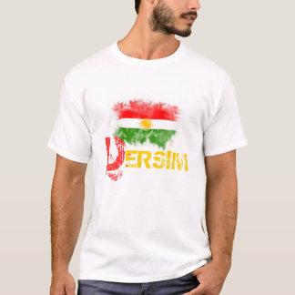 """Camiseta T-shirt do Curdistão com o """"DERSIM """""""