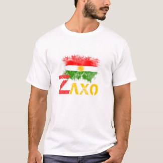 """Camiseta T-shirt do Curdistão com o """"ZAXO """""""