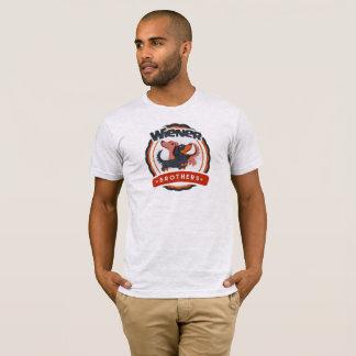 Camiseta T-shirt do Dachshund dos irmãos do Wiener