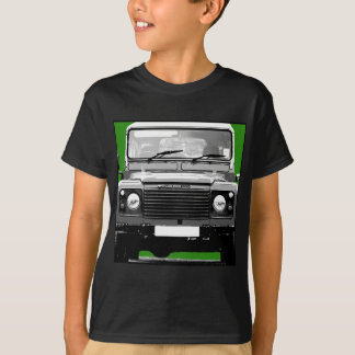 Camiseta T-shirt do defensor de Land Rover 110