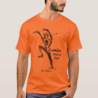 Camiseta T-shirt do departamento do controle do zombi