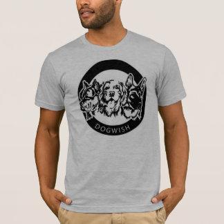 Camiseta T-shirt do desejo do cão dos homens