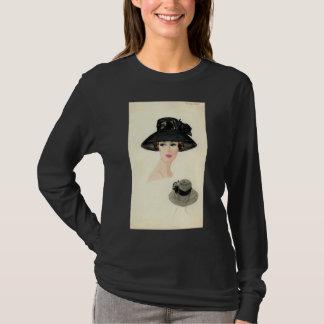 Camiseta T-shirt do desenhista de Halston
