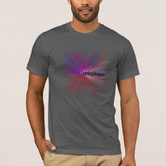 Camiseta T-shirt do desenhista de iluminação