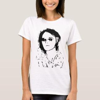 Camiseta T-shirt do desenho da menina
