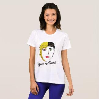Camiseta T-shirt do desenho do Soulmate