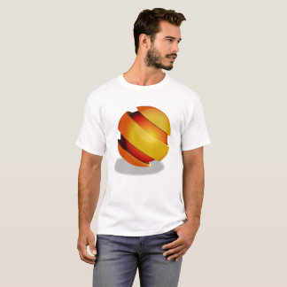 Camiseta T-shirt do design da esfera