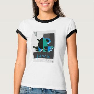 Camiseta T-shirt do design do toxicómano de Java