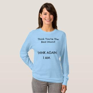 Camiseta T-shirt do dia das mães