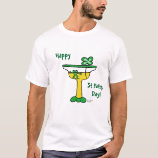 Camiseta T-shirt do dia de Pattys da rua