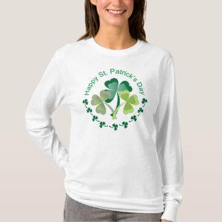 Camiseta T-shirt do dia de St Patrick afortunado
