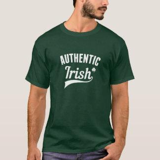 Camiseta T-shirt do dia de St Patrick autêntico do irlandês
