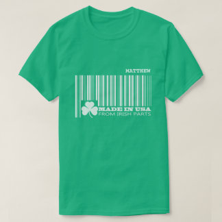 Camiseta T-shirt do dia de St Patrick conhecido feito sob