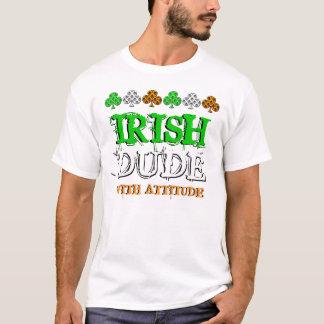 Camiseta T-shirt do dia de St Patrick do irlandês