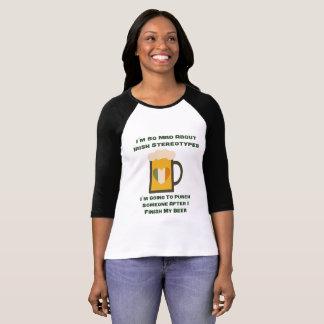 Camiseta T-shirt do dia de St Patrick engraçado