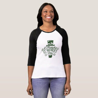 Camiseta T-shirt do dia de St Patrick: St Patrick feliz