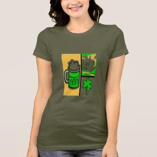 Camiseta T-shirt do dia do rissol do St. de Chicago