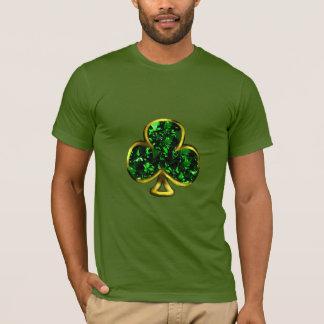 Camiseta T-shirt do dia do St Patrick dos homens do trevo
