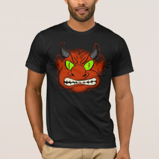 Camiseta T-shirt do diabo do Dia das Bruxas