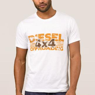 Camiseta T-shirt do diesel do Grunge 4x4