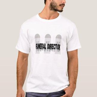 Camiseta t-shirt do diretor fúnebre