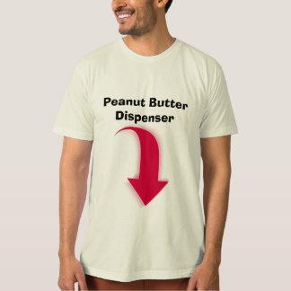 Camiseta T-shirt do distribuidor da manteiga de amendoim