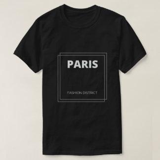 Camiseta T-shirt do distrito da forma de Paris, France