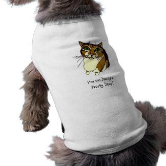 "Camiseta ""T-shirt do Doggy da etapa Jazzy de Norty"""