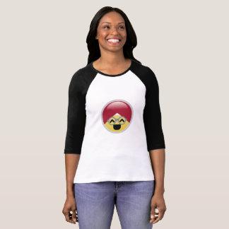 Camiseta T-shirt do Dr. Social Meio Alegre Turbante Emoji