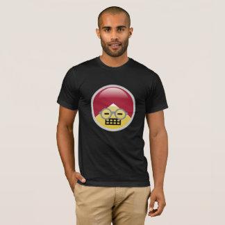 Camiseta T-shirt do Dr. Social Meio Fazer caretas Turbante