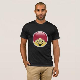 Camiseta T-shirt do Dr. Social Meio Língua Turbante Emoji