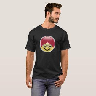 Camiseta T-shirt do Dr. Social Meio Smiley Turbante Emoji