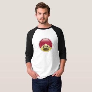 Camiseta T-shirt do Dr. Social Meio Tonto Turbante Emoji