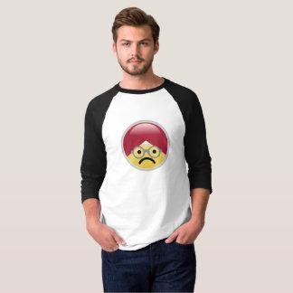 Camiseta T-shirt do Dr. Social Meio Triste Turbante Emoji