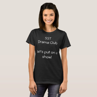 Camiseta T-shirt do drama de SST