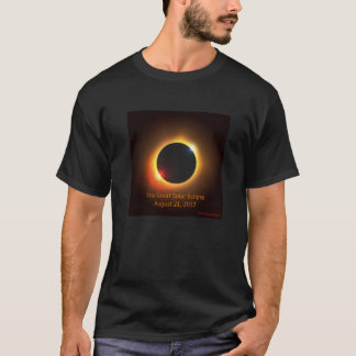 Camiseta T-shirt do eclipse 2017 solar
