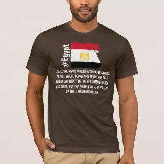 Camiseta T-shirt do #Egypt