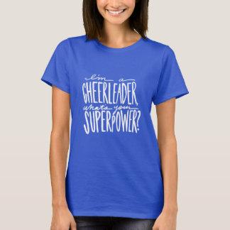 Camiseta T-shirt do elogio - t-shirt do cheerleader
