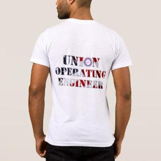 Camiseta T-shirt do engenheiro do funcionamento da união