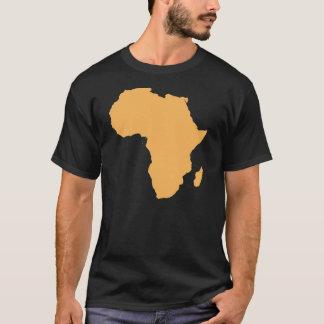 Camiseta T-shirt do esboço do continente de África
