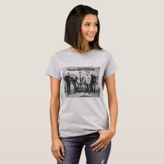 Camiseta t-shirt do esmagamento de nashville