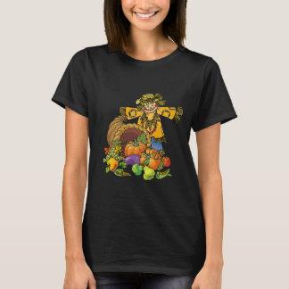 Camiseta T-shirt do espantalho do divertimento das mulheres